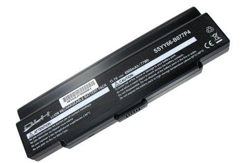 DLH LI-ION 11.1V-6900mAh-77Wh BLACK XL Batterie/Pile - Composants de notebook supplémentaires (Batterie/Pile)