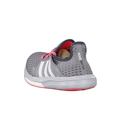 Adidas B44517, Running Femme grey-white-flash red