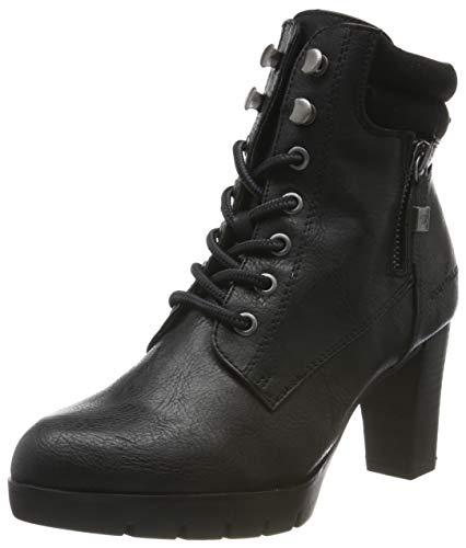 TOM TAILOR für Frauen Schuhe Boots mit Absatz Black, 40
