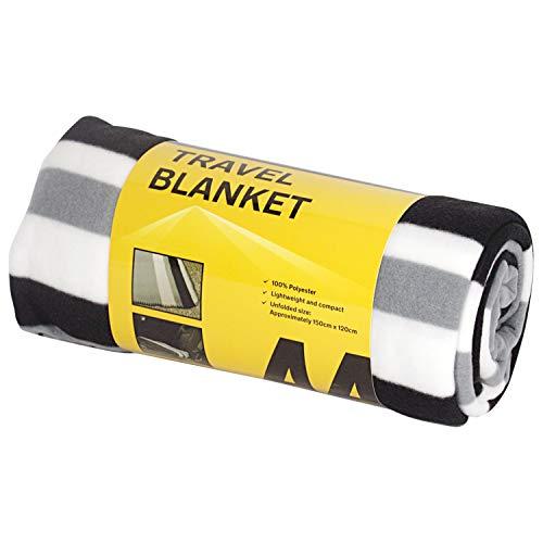 AA Car Essentials Fleece Decke für unterwegs (Ersatz-baby-auto-sitzbezüge)