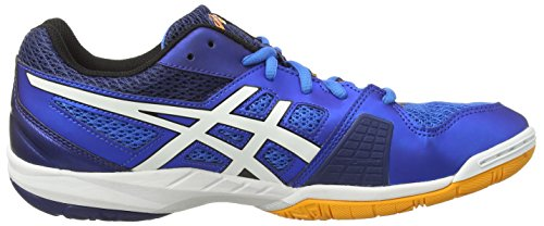 Asics - Gel-blade 5, Scarpe da Squash Uomo Blu (Electric Blue/White/Navy 3901)