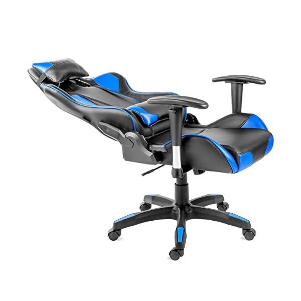 Gaming Mc Haus Chaise Pour De Inclinable Dossier Bureau Avec zGLqUpSjMV