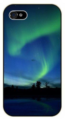 iPhone 6 Aurora borealis, northern lights - black plastic case / Nature, Animals, Places Series -