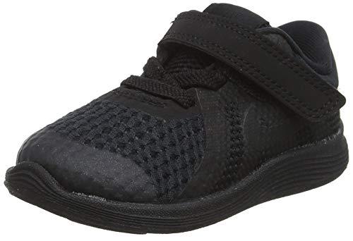 Nike Unisex Baby Revolution 4 (TDV) Hausschuhe, Schwarz Black 004, 22 EU (Junge Baby Schuhe Jordan)