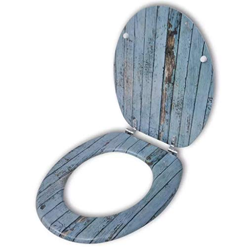 SOULONG Toilet Seat with MDF Lid...