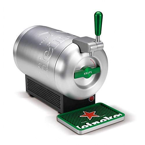 THE SUB Draught Beer Tap for Home by Krups VB650E1, Heineken Edition