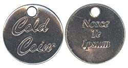 Nosce Te Ipsum Know Thyself Cold Coin