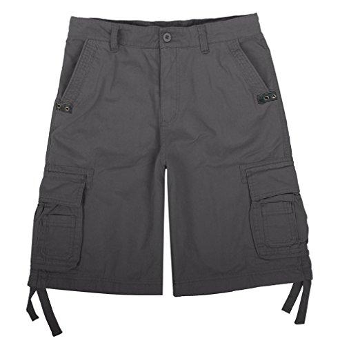 Madhero -  Pantaloncini sportivi  - Uomo Grey