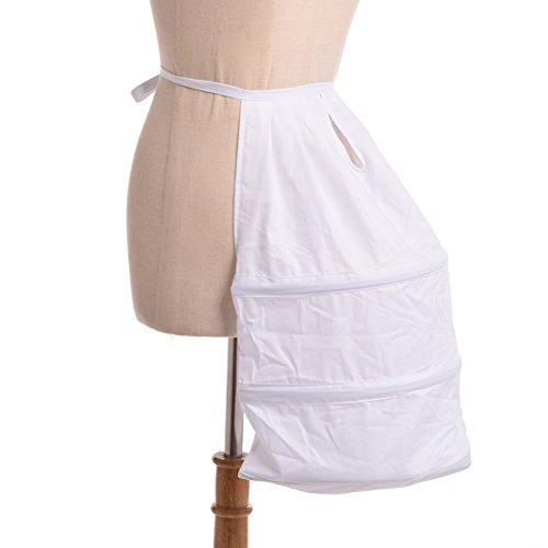 BLESSUME viktorianisches Kleid Treiben Eine Größe