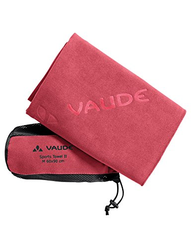 VAUDE Handtuch Sports Towel II S, flame, 40 x 80 cm
