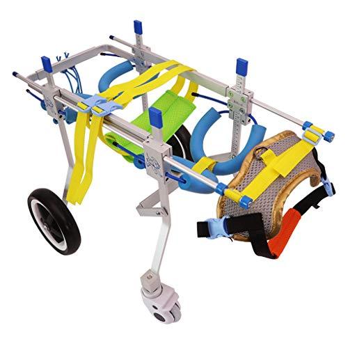 Zyy Hunderollstuhl Gehhilfe Rollstuhl, Behinderung Läh…   06940165032505
