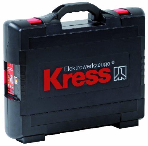 Kress 98043805 Koffer Klick-Box II Bohrgeräte Pistolenform inklusive Einlage Tragekoffer Bohrgeräte, schwarz