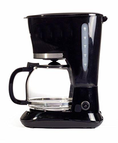 Igenix IG8126 10-Cup Filter Coffee Maker, 800 W – Black