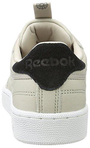 Reebok Club C 85 It, Zapatos Atléticos Para Hombres Beige (sand Stone / Black / White)