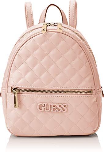 Guess Damen Elliana Backpack  Rucksack Damen - Erröten (Blush) - 22x29x10.5 centimeters (W x H x L) (Guess Schuh Für Frauen)