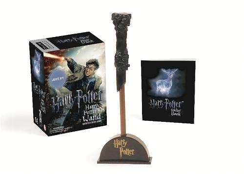 Harry Potter Wizard's Wand with Sticker Book: Lights Up! (Miniature Editions) (A Of Kind Von G-dragon One)