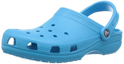 Crocs Classic, Zoccoli e Sabot Unisex Adulto, Blu (Electric Blue 404), 45/46 EU
