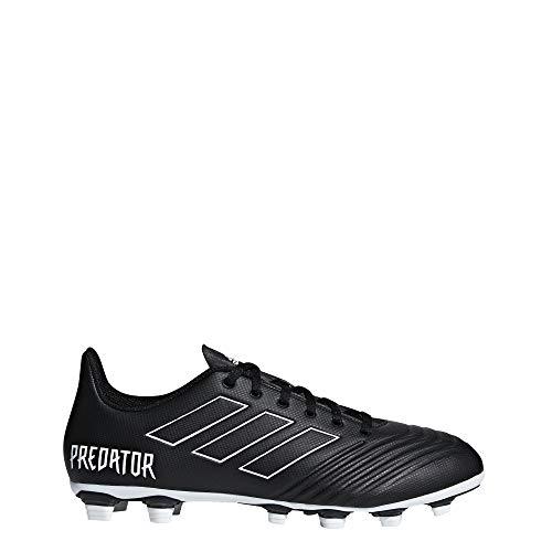 adidas Herren Predator 18.4 Fxg Fußballschuhe Schwarz (Negbás/Ftwbla 000) 47 1/3 EU