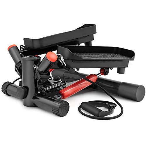Hop-Sport HS-035S Stepper Rotatif à résistance Ajustable avec Sangles d'exercice