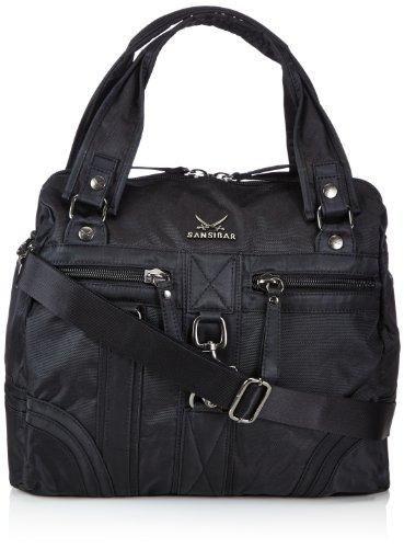 Sansibar  Calima, sac à main femme Noir - Black - Schwarz (black)