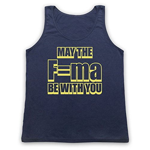 May The Force Be With You Physics Tank-Top Weste Ultramarinblau