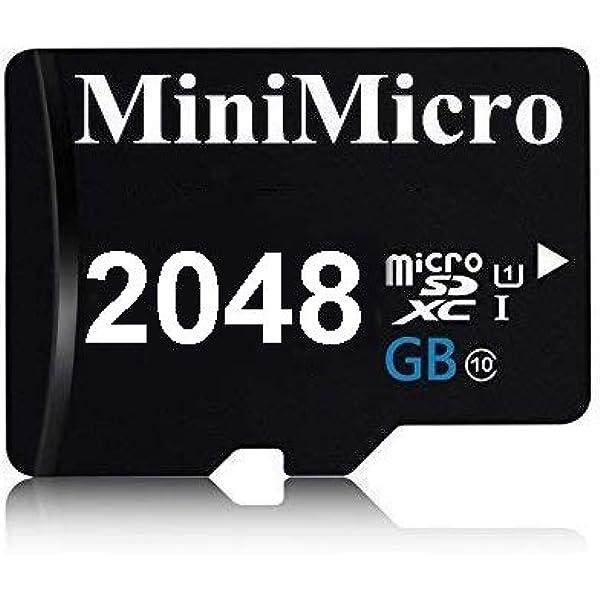 2048gb Micro Sd Karte Class 10 High Speed 2tb Speicherkarte Für Handy Tablet Und Pc Mit