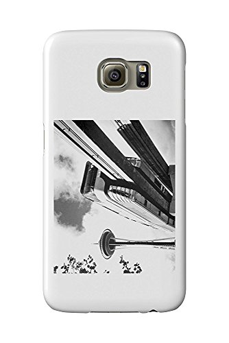 Seattle, Washington - Space Needle and Monorail - Vintage Photograph (Galaxy S6 Cell Phone Case, Slim Barely There) - Monorail, Space Needle