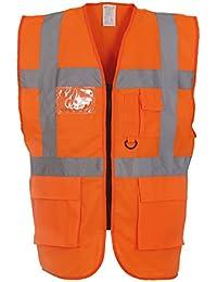 Yoko Multifunctional Executive Hi Vis Waistcoat - 18 Colours/Sml - 3XL