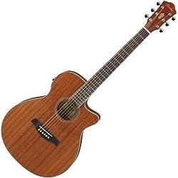 Guitarra Acústica - Ibanez aeg8emh-opn