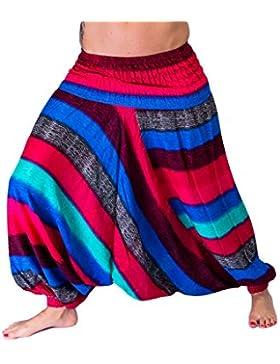 Pantalón Harén de Aladín mienloco Mujer 100% rayón