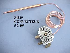 DIVERS MARQUES - THERMOSTAT RADIATEUR A BULBE 5°A40° - 34329
