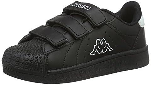 Kappa Olymp, Sneakers Basses Mixte Enfant, Noir (1110 Black/White), 32