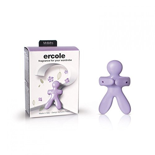 Mr & Mrs Fragrance Ercole air fresheners for the wardrobe LAVANDA, Eva, purple, 7 x 1 x 9 cm, 1 unit