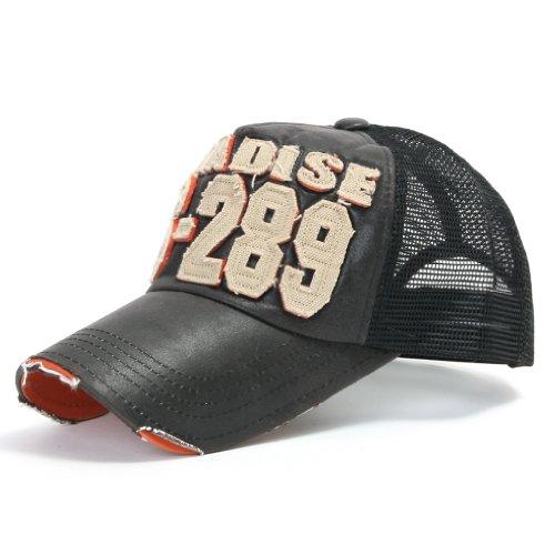 intage Mesh Baseball Cap Snapback Trucker Hut (ballcap-440-1) ()