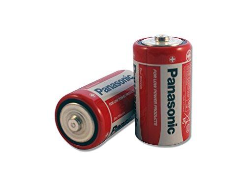 24 x Panasonic Batterien - Mono D Zellen R20 1.5V - Zink-Kohle - LR20 - Neuware D Kohle