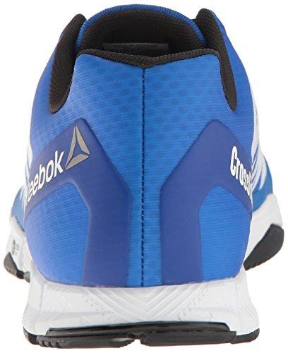 Reebok-Mens-Crossfit-Speed-TR-Cross-Trainer-Shoe-WhiteBlackAwesome-BluePewter-13-M-US
