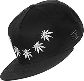 Cayler and Sons Fuck Yeah Snapback Cap Black White