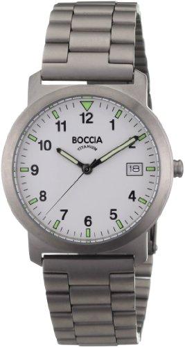 Boccia Reloj Analógico de Cuarzo para Hombre con Correa de Acero Inoxidable – 4575/MR