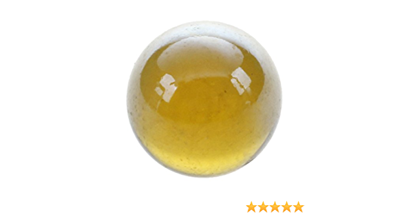 LQNB 10 Pcs Marbles 16mm glass marbles Knicker glass balls decoration toy Dark Brown