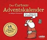 Der Cartoon-Adventskalender - Lappan-Verlag - Miguel Fernandez - Aufstellkalender mit