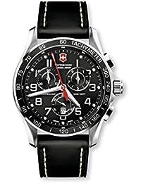 84ecc1655316 Victorinox Swiss Army - Reloj analógico de Cuarzo para Hombre con Correa de  Piel