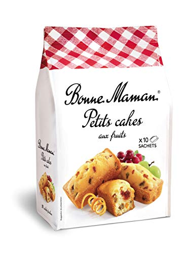 Bonne Maman Petits cakes aux fruits 1x300g