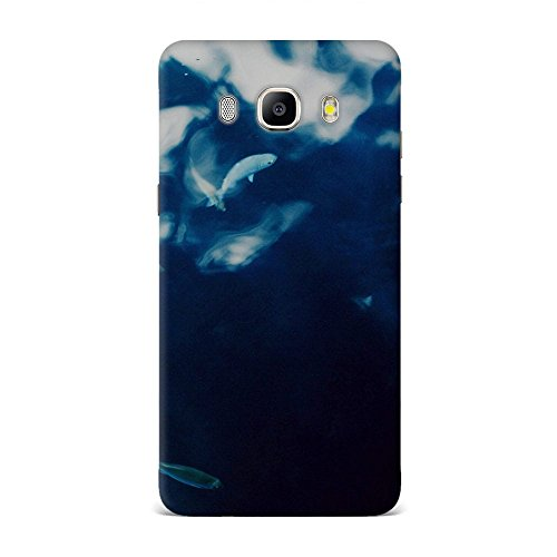 Samsung J5 2016 Case, Samsung J5 2016 Hard Protective SLIM Printed Cover [Shock Resistant Hard Back Cover Case] for Samsung J5 2016 - Water Lake Fish Nature Indigo Blue  available at amazon for Rs.375
