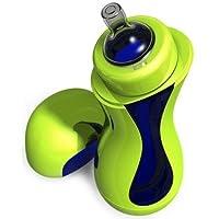 Biberon auto-chauffant Iiamo Go, coloris vert/bleu