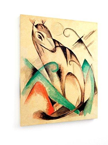 franz-marc-criatura-mtica-sentado-40x50-cm-weewado-impresiones-sobre-lienzo-muro-de-arte-antiguos-ma
