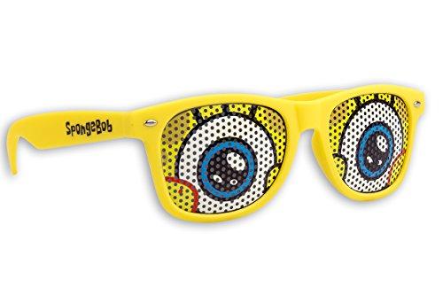 SpongeBob Schwammkopf Sonnenbrille GELB Fanbrille UV 400 verschiedene Modelle und Größen (Classic)