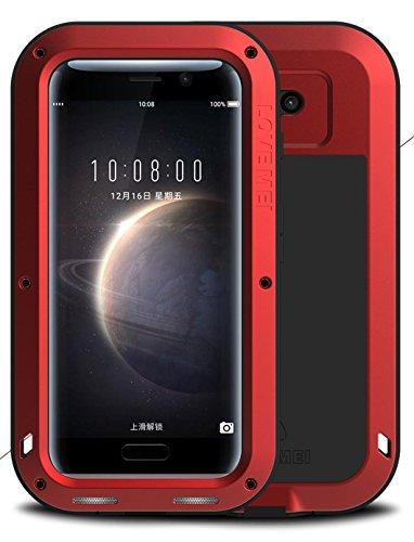 Schutzhülle für Huawei Honor Magic, Love Mei Marke Leistungsstarke aluminum-silicone Hybrid Metall Stoßfest [2Jahre Garantie]