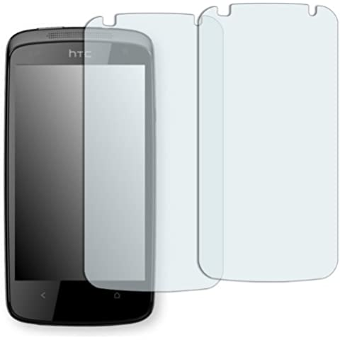 2 x Golebo protector para pantalla para HTC Desire 500