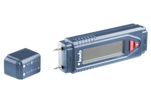 Preisvergleich Produktbild kwb Holzfeuchtemessgerät 012100 (Wandfeuchtemessgerät, Messgerät für Holz und Mauerwerk, inklusive 9 V Blockbatterie)