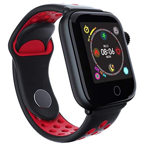 Clode Moda Bluetooth Smart Watch Frequenza cardiaca monitorare Bracciale per Android IOS